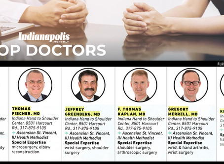 6 Physicians Featured in Indianapolis Monthly Top Doc Issue