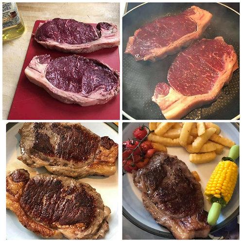 2 Sirloin Steaks