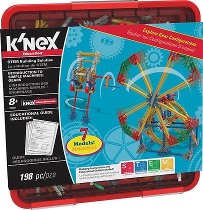 K'NEX Education Intro To Simple Machines Gears Set