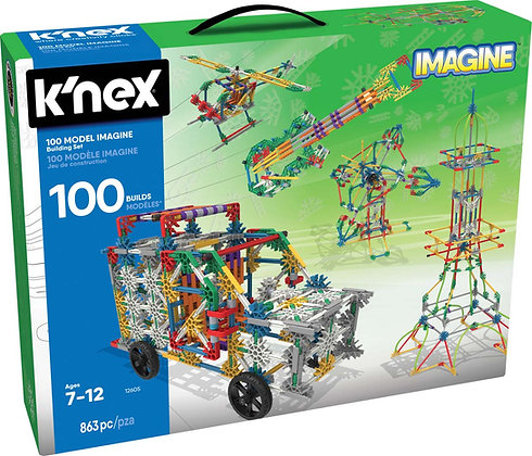 K'NEX Imagine 100 Model Building Set