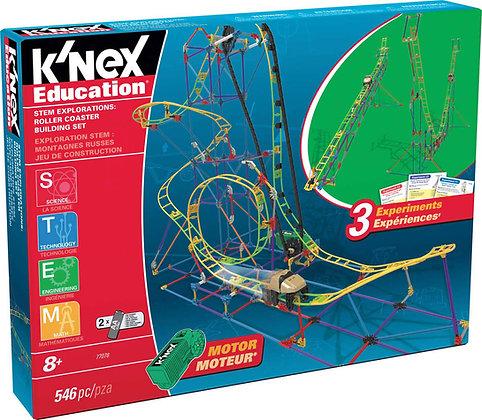 K'NEX Education Stem Explorations Roller Coaster Building Set