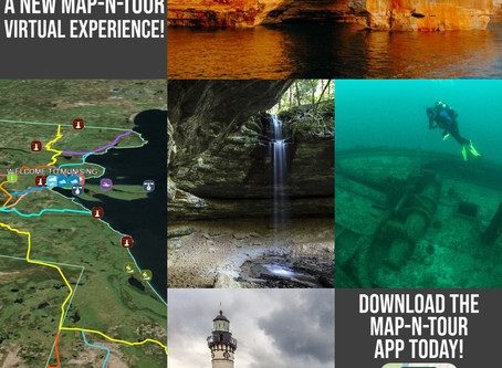 Maps Tell Story of Munising, MI!