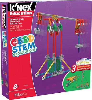 K'NEX Education® Stem Explorations Levers And Pulleys Building Set