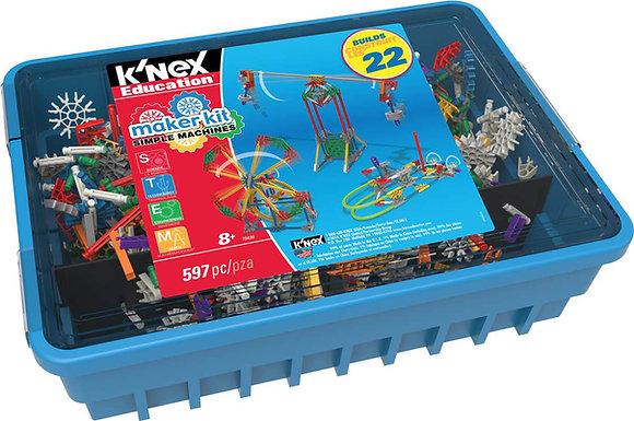 K'NEX Education® Makers Kit Simple Machines