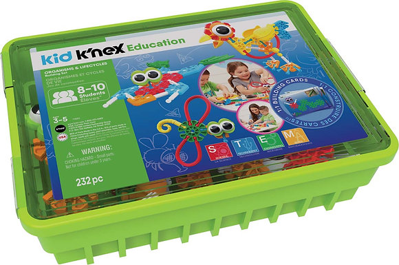 Kid K'NEX Education Organisms And Lifecycles