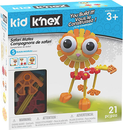 Kid K'NEX Safari Mates Building Set
