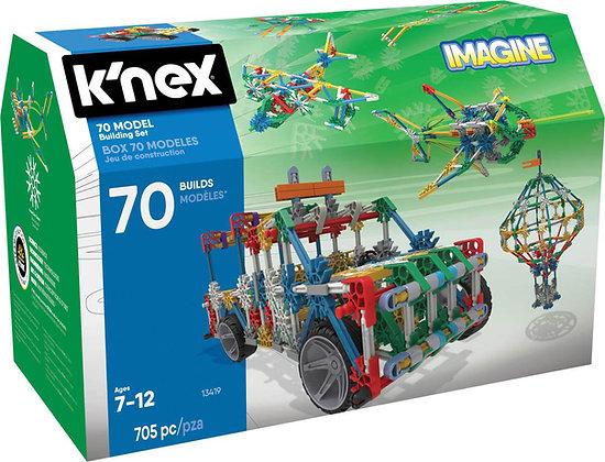K'NEX Imagine 70 Model Building Set