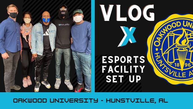 Oakwood University Esports Lab Build Out Vlog