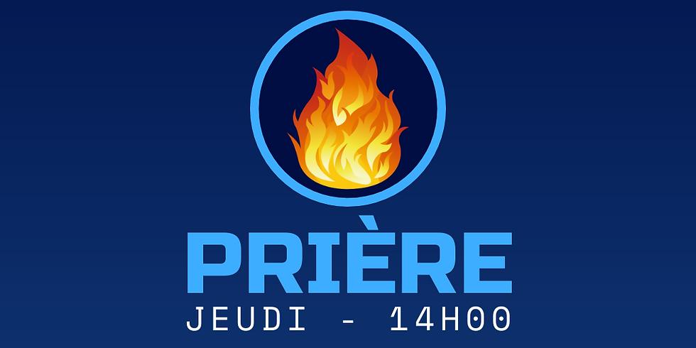 PARTAGE & PRIÈRE (Horaire spécial couvre-feu)