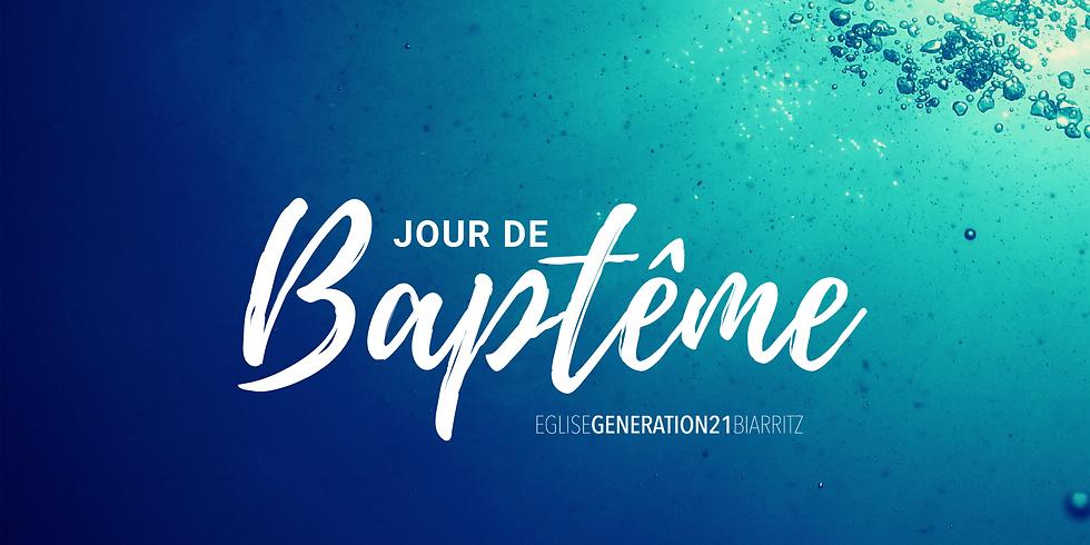 PREMIER CULTE - 9H30 - Jour de baptême