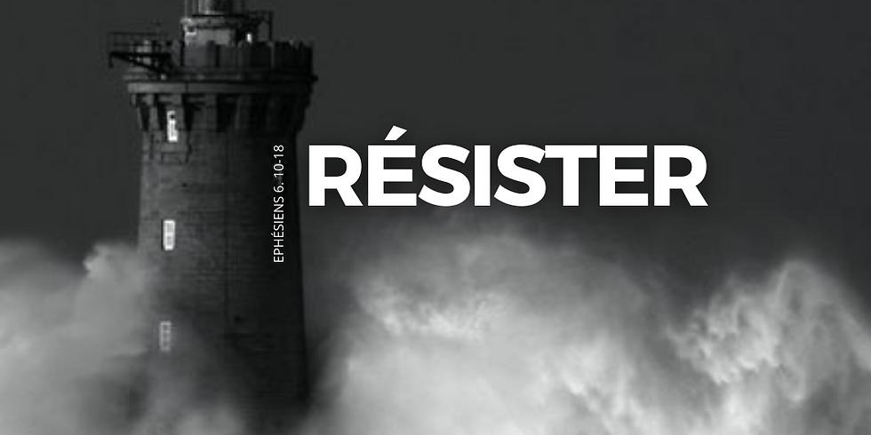 CULTE - 11h00 : RESISTER