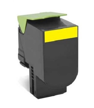 Lexmark CX410 CX510 Yellow High Yield 3K Toner