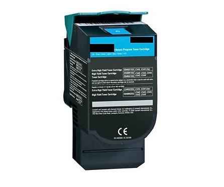 Lexmark C540 Cyan High Yield 2K Toner C540H1CG