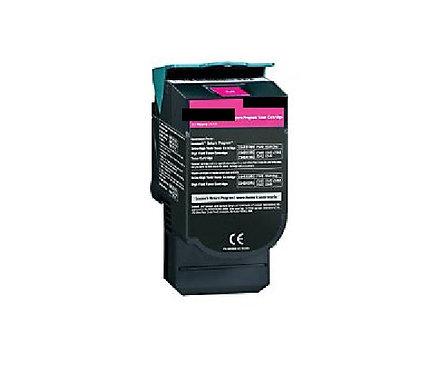 Lexmark C540 Magenta High Yield 2K Toner C540H1MG