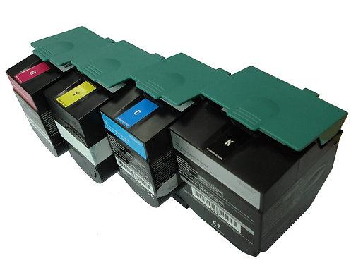 Lexmark C544 X544 Extra High Yield Toner SET