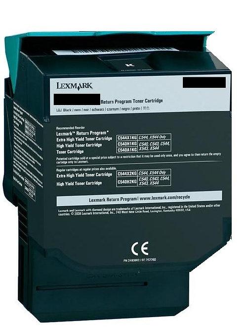 Lexmark C540 Black High Yield 2.5K Toner C540H1KG