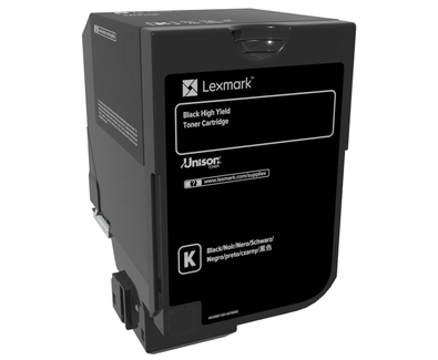 OEM Lexmark CS720 CS725 Black High Yield 20K Toner Cartridge 74C1HK0