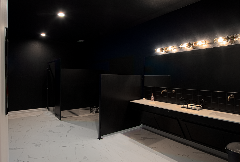 The Legacy men's restroom