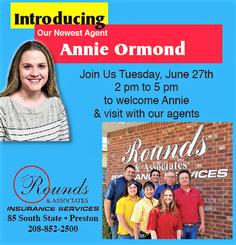 Welcome Annie Ormond!