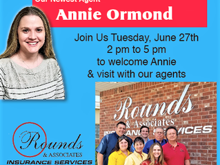 Welcome Annie Ormond!