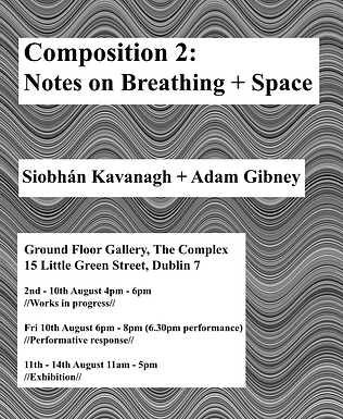 Composition 2: Notes on Breathing and Space