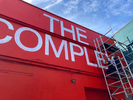 New Signage for The Complex