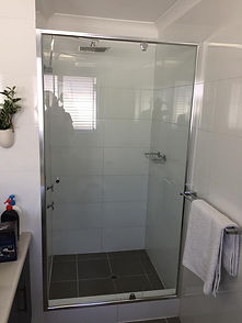 Shower screen glass protection