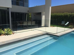Pool fence cleaning