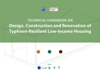Technical Handbooks on Design, Construction and Renovation of Typhoon-Resilient Low-Income Housing