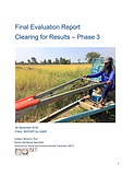 Final Evaluation Report of the Cambodian Mine Action and Victim Assistance Authority (CMAA)