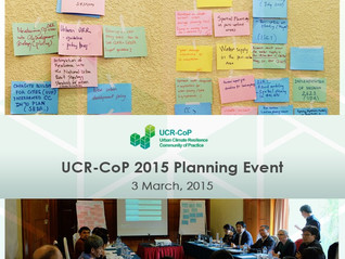 Joint Efforts for the Take-Off of the UCR-COP in 2015 - Results from the Planning Meeting