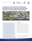Learning Cyclone Idai_Mozambique_DRR_1st