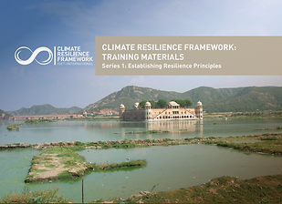 Climate Resilience Framework Training Ma