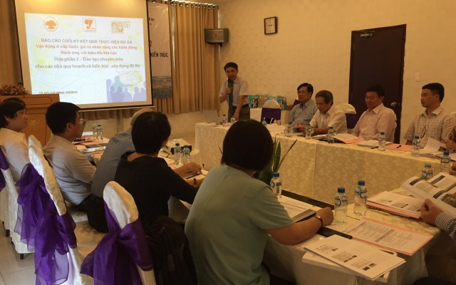 Review workshop in Ho Chi Minh City on 05 June 2015