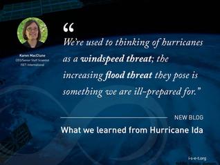 What we learned from Hurricane Ida
