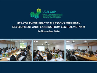Flood Management in the Urban Planning Process - The 2014 UCR-COP End of Year Event Recap