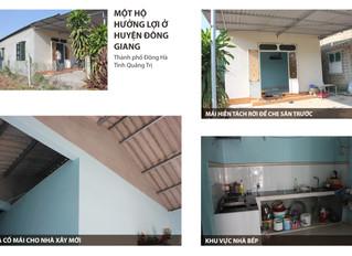 Toàn cảnh về dự án nhân rộng mô hình nhà chống bão tại Quảng Trị, miền Trung Việt Nam