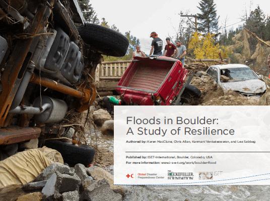 Floods in Boulder