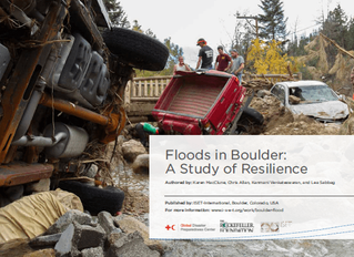 FLOODS IN BOULDER: A STUDY OF RESILIENCE