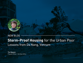 Storm-Proof Housing for the Urban Poor – Lessons from Da Nang, Vietnam
