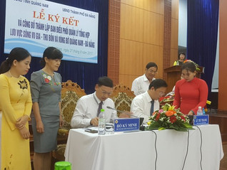 Establishment of Vu Gia – Thu Bon River Basin Organization