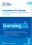 Foundations for Change  Using adaptive management to navigate uncertainty Lessons from Year 3