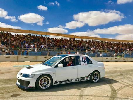 מופע רכבי על ותחרויות רכב באילת Race wars eilat