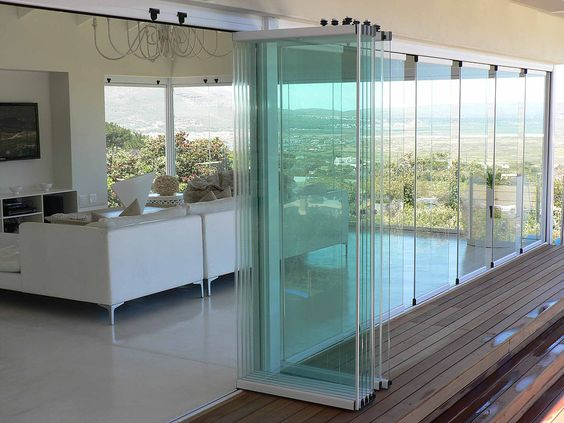 זכוכית נאספת פנורמיק לסגירת מרפסת או