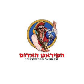 לוגו הפיראט האדום - MR WEB