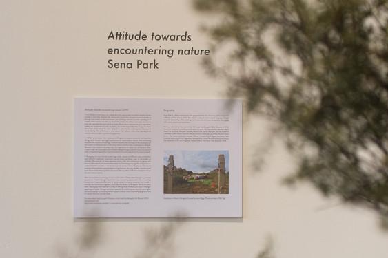 Attitude towards encountering nature