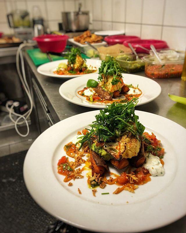 CAULIFLOWER plates 🍽__Roasted sweet pot