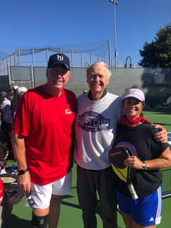 Grand Opening of San Gorgonio Park Pickleball Courts (2018).