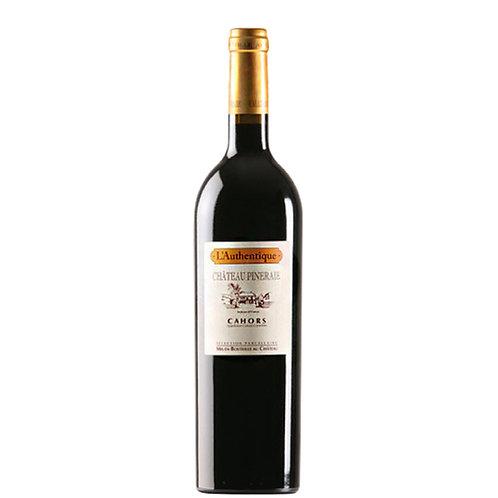 松林酒莊頂級馬爾貝克老老藤手摘紅葡萄酒 Château Pineraie Cahors L'Authentique 2012