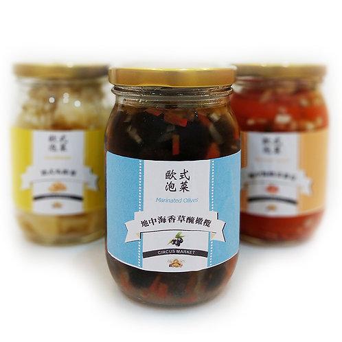 歐式泡菜 - 地中海香草醃橄欖